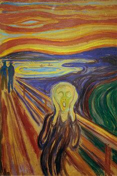 Plakát Edward Munch - The Scream