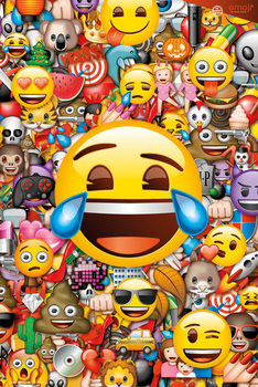 Emoji - Collage (Global) Plakát