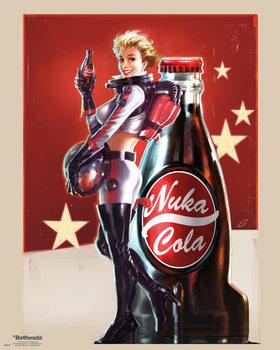 Fallout 4 - Nuka Cola Plakát