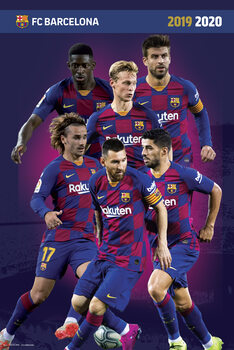 FC Barcelona 2019/2020 Plakát