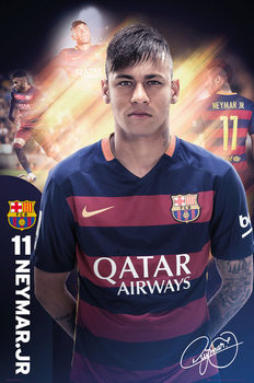 FC Barcelona - Neymar 15/16 Plakát