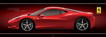 Ferrari - 458 italia Plakát