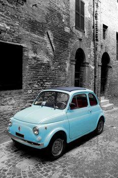 Fiat Bambino - italian classics Plakát