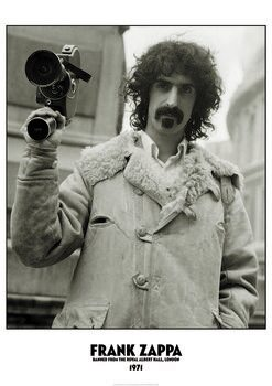 Plakát Frank Zappa - Banned Albert Hall 1971