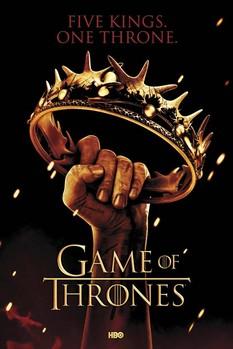 GAME OF THRONES - crown plakát