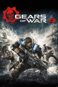 GEARS OF WAR 4 - Game Cover Plakát