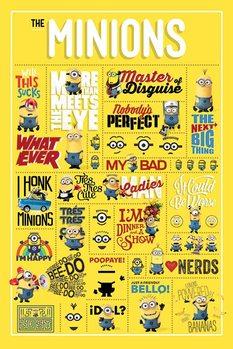 Gru - Infographic Plakát