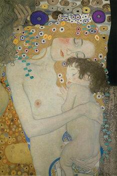 Plakát Gustav Klimt - Mother and Child