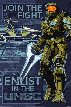 Plakát Halo: Infinite - Join the Fight