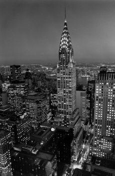 HENRI SILBERMAN - chrysler building Plakát