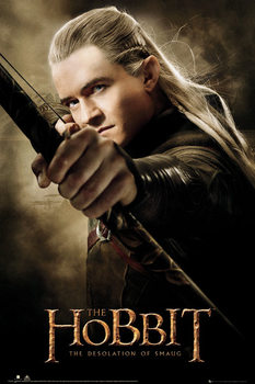 HOBBIT - desolation of smaug Legolas Plakát