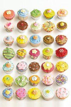 Howard Shooter - cupcakes Plakát
