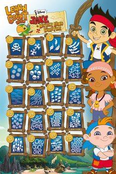 Jake és Sohaország kalózai - Learn to Count With Plakát