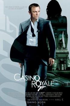 JAMES BOND 007 - casino royale empire one sheet plakát