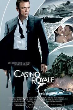JAMES BOND 007 - casino royale iris one sheet plakát