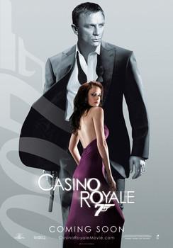 JAMES BOND 007 - casino royale vesper plakát