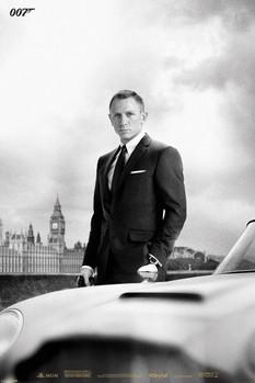 JAMES BOND 007 - skyfall / bond & DB5 plakát