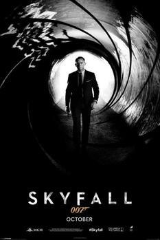 JAMES BOND 007 - skyfall plakát