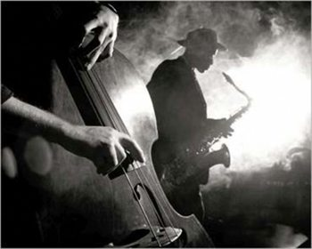 Jazz Art Print Nick White Plakát