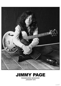 Plakát Jimmy Page - January 1970 Berkshire