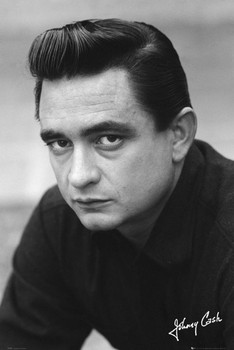 Johnny Cash - signature Plakát