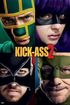 KICK ASS 2 - cast Plakát