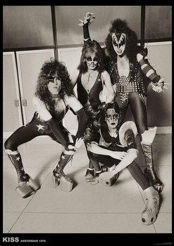 Kiss - Amsterdam 1976 Plakát