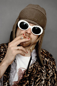 Kurt Cobain - Colour Plakát