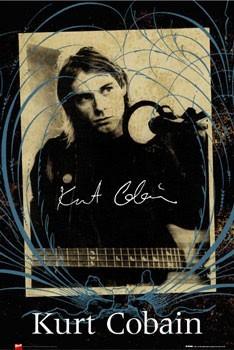 Kurt Cobain - photo Plakát
