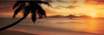 La digue - seychelles Plakát