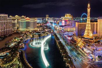 Plakát Las Vegas - Aerial View