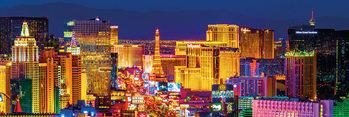 Las Vegas - strip Plakát