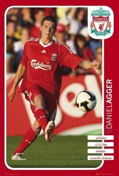 Liverpool - agger 08/09 plakát