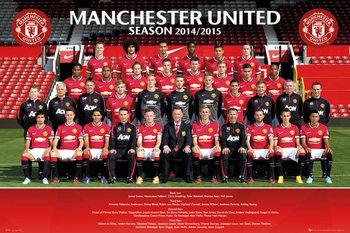 Manchester United FC - Team Photo  plakát