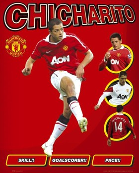 Manchester United - hernandez Plakát