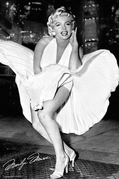 Marilyn Monroe - New York Dress Plakát