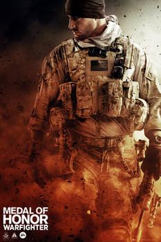 Medal of Honor - walking  Plakát