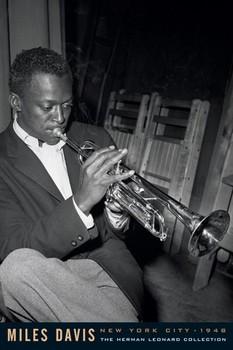 Miles Davis - leonard Plakát