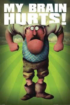 Monty Python - my brain Plakát