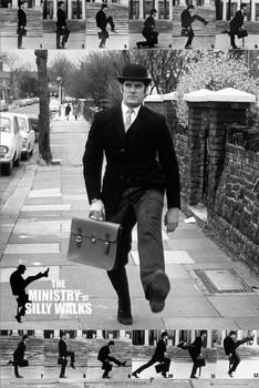 Plakát Monty Python - the ministry of silly walks