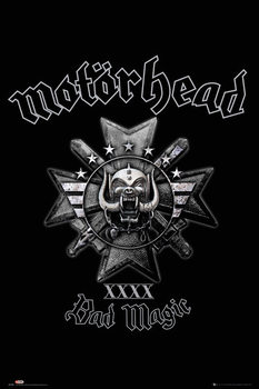 Motorhead - Bad Magic Plakát