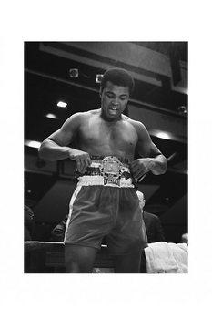 Muhammad Ali - belt plakát