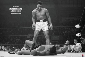 Muhammad Ali vs. Sonny Liston Plakát