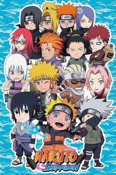 Naruto Shippuden - SD Compilation Plakát