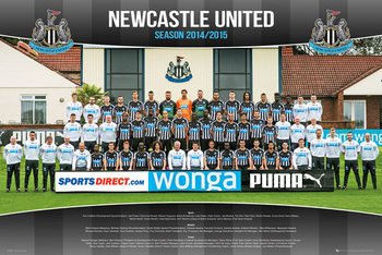 Newcastle United FC - Team Photo 14/15 Plakát