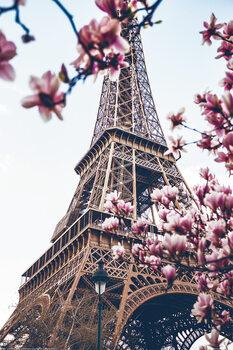 Párizs - Eiffel -torony Plakát