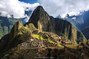 Peru - Machu Picchu Plakát