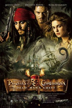 Pirates of Caribbean - one sheet Plakát