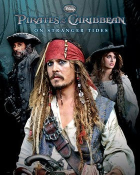 PIRATES OF THE CARIBBEAN 4  Plakát
