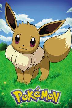 Plakát Pokemon - Eevee